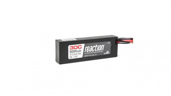 Reaction 7.4V 5000mAh 2S 30C LiPo boitier rigide