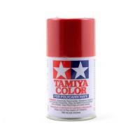 Peinture en aérosol de Lexan rouge métallique Tamiya PS-15 (3 oz)