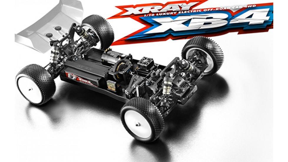 XRAY XB4 2020 1/10 4WD Electric Buggy Kit