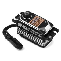 Yokomo SP-03 D Programable Brushless Drift Servo (Noir)