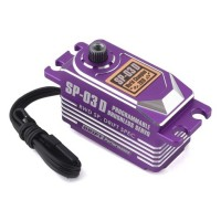 Yokomo SP-03 D Programable Brushless Drift Servo (mauve)