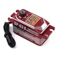 Yokomo SP-03 D Programable Brushless Drift Servo (Rouge)