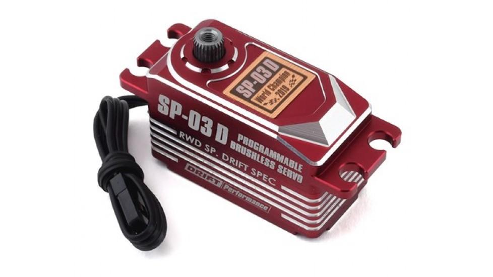 Yokomo SP-03 D Programable Brushless Drift Servo (Rouge)