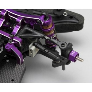 Yokomo YD-2SX II Limited Edition 1/10 2WD RWD Competition Drift Car Kit (Mauve)